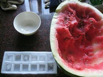夏日冰饮   西瓜篇的做法图解1