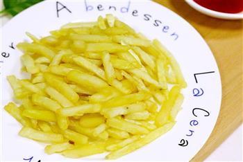 炸薯条的做法图解9