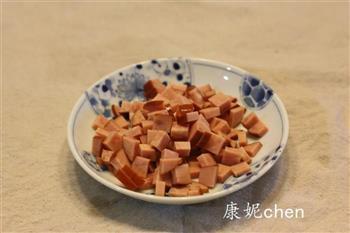 核桃五彩豆腐的做法图解2