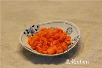 核桃五彩豆腐的做法图解3
