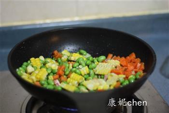 核桃五彩豆腐的做法图解8