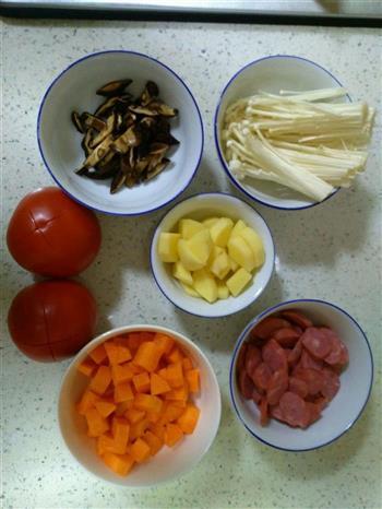 番茄饭的做法图解1