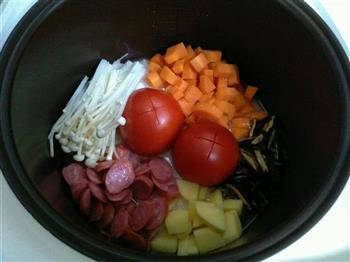 番茄饭的做法图解2