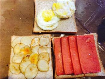 低颜值三明治的做法图解4