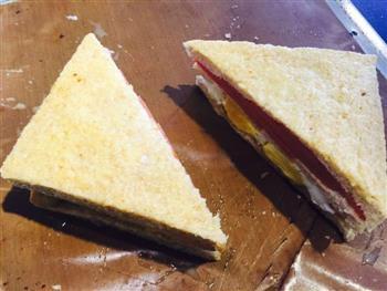 低颜值三明治的做法图解6