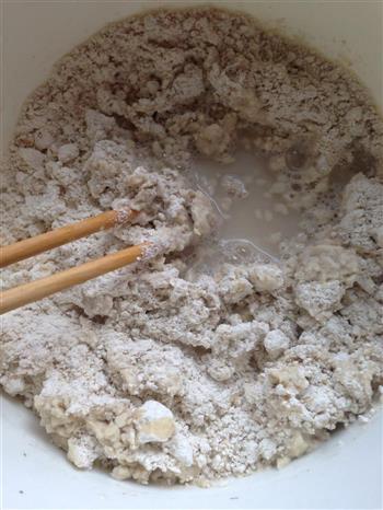 麻酱拌莜面的做法图解2