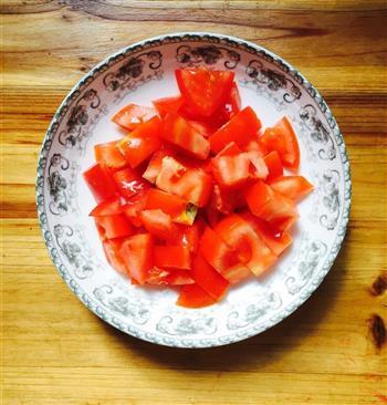 西红柿焖油豆腐的做法图解2