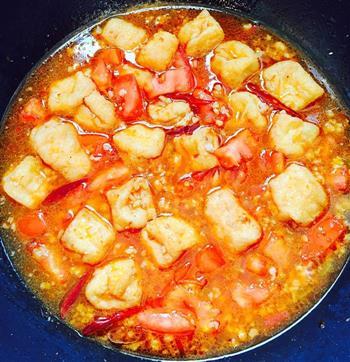 西红柿焖油豆腐的做法图解9