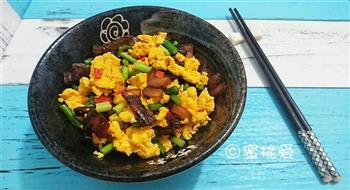 蒜苔腊肉炒鸡蛋的做法图解21