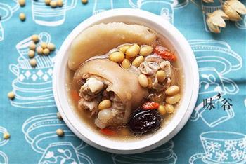 黄豆猪蹄汤-滋补可以如此简单的做法图解6