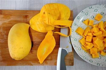 芒果果酱-豆浆机版的做法图解3