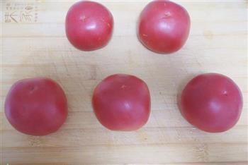 不一样的番茄鸡蛋卷的做法图解1