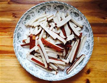 小炒豆干的做法图解1