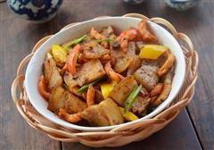 麻花回锅肉