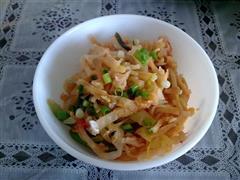 莲花菜炒饼