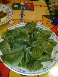 翡翠驴肉蒸饺水饺子