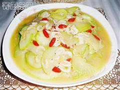 西葫芦炒虾皮