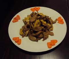 鸡腿菇炒鸡蛋