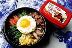 韩国牛肉石锅拌饭