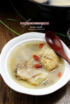 奶白安康鱼汤