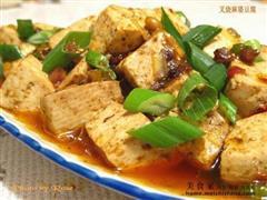 山寨式叉烧麻婆豆腐