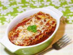 Lasagna烤宽面条