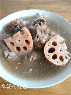 莲藕骨头汤
