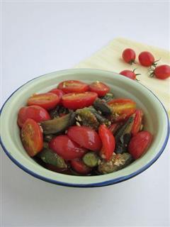 小西红柿烧茄子
