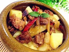 酸菜土豆炖牛肉