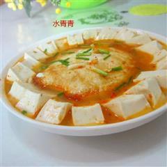 荷包蛋煮豆腐