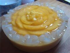 油桃慕斯蛋糕