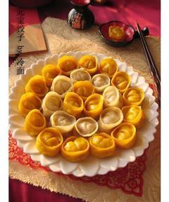 金银元宝饺子