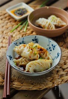 鲜虾猪肉饺子