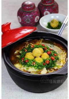 金汤豆腐鱼煲