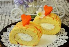 胡萝卜蛋糕卷
