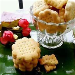 葱香酥脆饼干