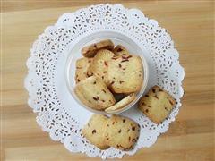 家庭制作蔓越莓饼干