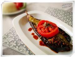 土耳其式牛肉末茄子