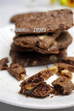 坚果巧克力酥香饼干