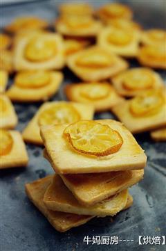 金桔软心饼干