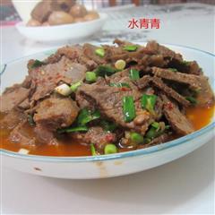 蒜香卤牛肉片
