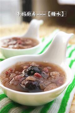 红豆红枣银耳汤