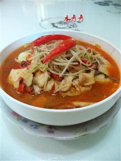 豆芽菜水煮鱼