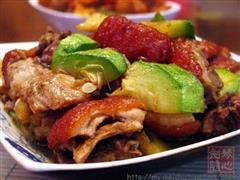 西葫芦焖烧肉