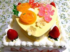 草莓芒果慕斯蛋糕