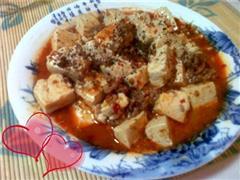 爱心版麻婆豆腐