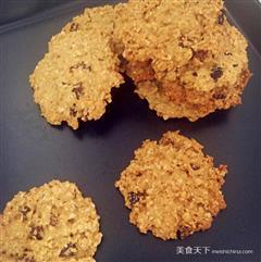 红糖朗姆燕麦饼干