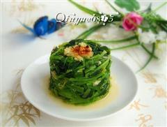 蒜香菠菜塔