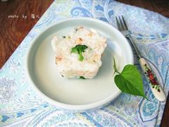 日式三文鱼饭团