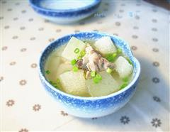 竹荪冬瓜排骨汤